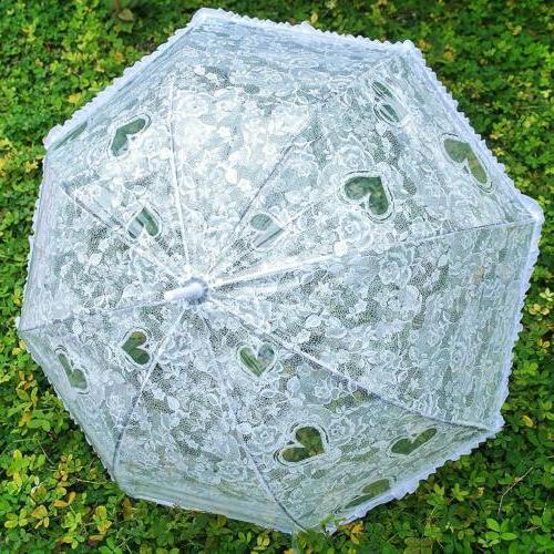 Becko Stick Clear Transparent Shape Style Rain Umbrella