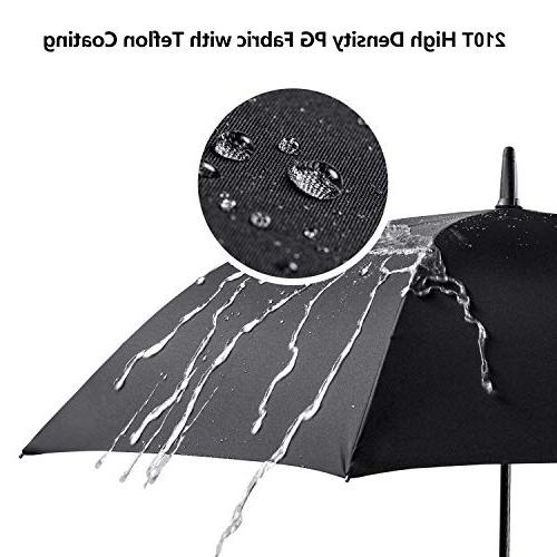 Leebotree Umbrella, Open with 51 Inch Large Waterproof and for Men Women