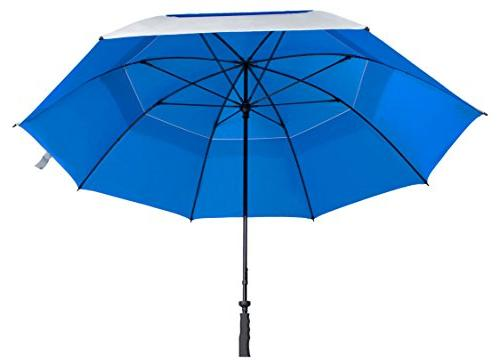 "Suntek 68"" Reflective UV Protection Windcheater Umbrella"