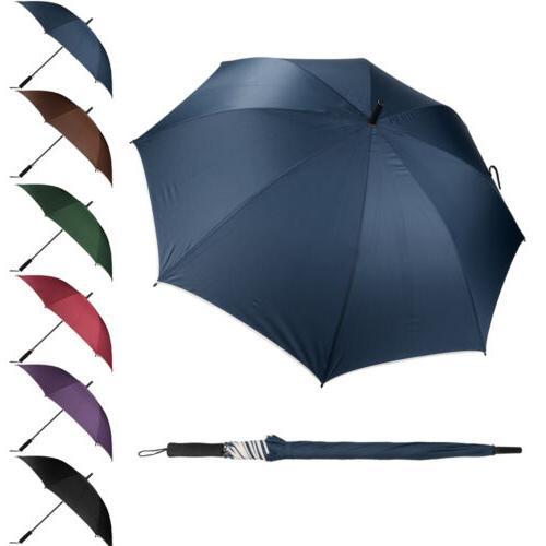 Super Windproof Anti-UV Parasol Long Handle Straight Sun//Rain Stick Umbrella