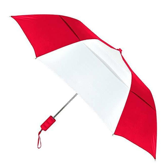 the vented grand practicality folding umbrella red