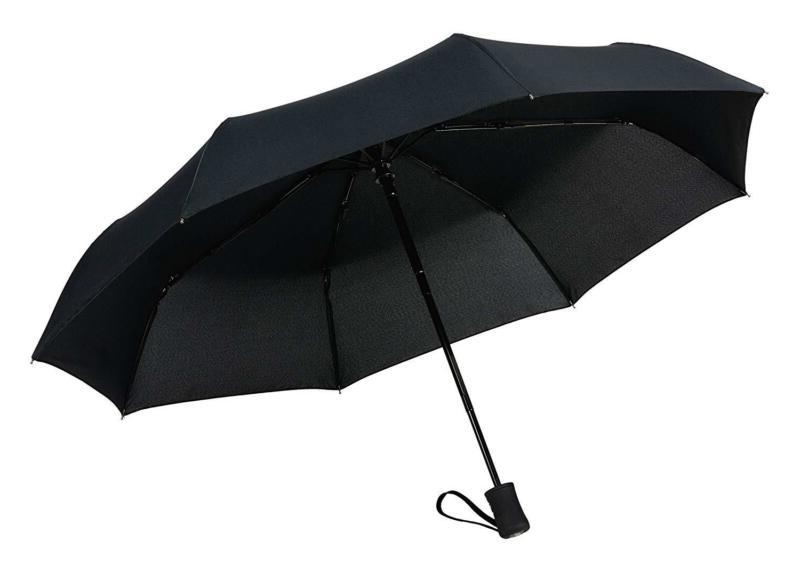 Crown Coast Travel Umbrella 60 Mph Windproof Light Weight Me