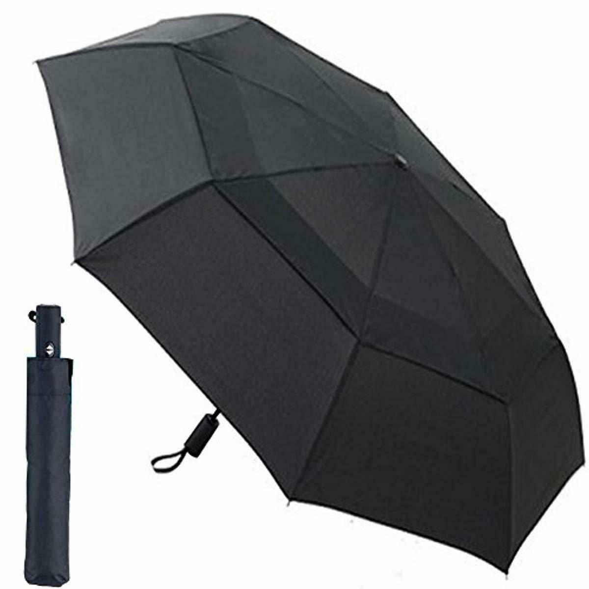 CNHY Travel Umbrella Folding Large Automatic Golf Umbrellas