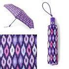 VERA BRADLEY Umbrella Lilac Ikat Pattern msrp $34.00 NWT