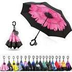 Umbrella Monstleo Inverted Double Layer Reverse Windproof Ha