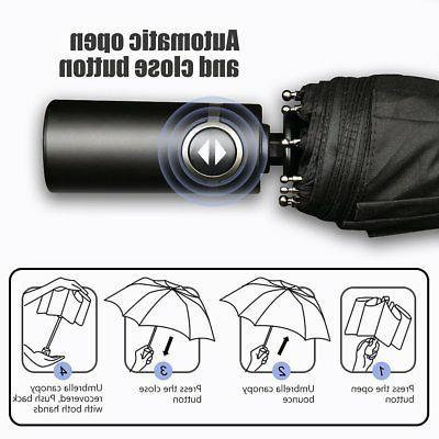 Bodyguard Travel Finest Windproof Umbrella Teflon Coating