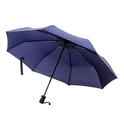 Umbrellas Windjammer Vented Auto Open Auto Close Folding Tra