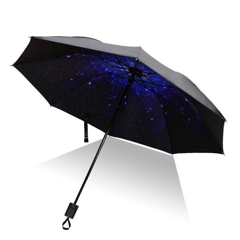 Windproof Double Rain Down Inverted Handle Umbrella