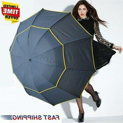 us 130cm men women folding rain umbrella
