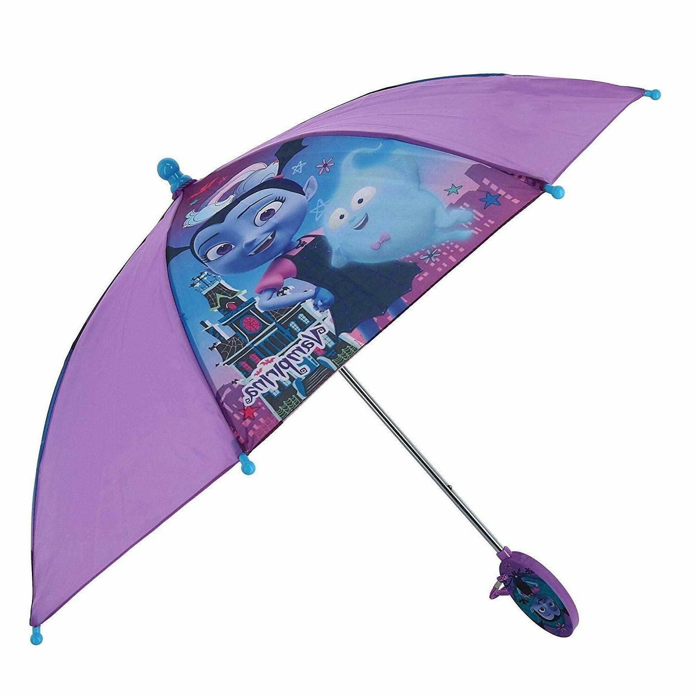 Disney Vampirina Umbrella Bat Rain Children 2+