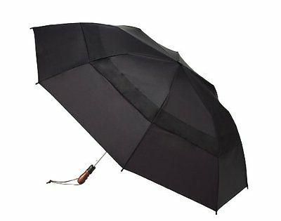 "Windjammer By Shedrain 2044A-B Black 58"" Arc Vented Auto Ope"