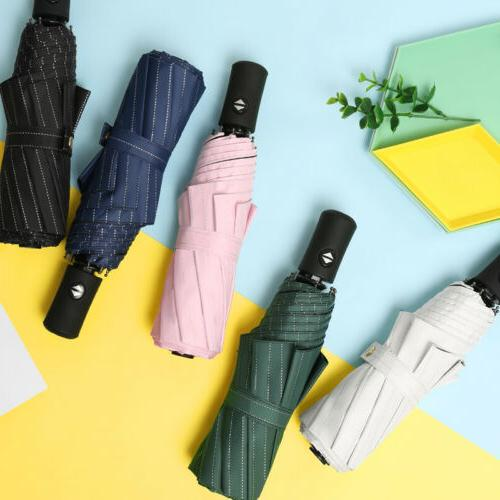 8 ribs automatic travel umbrella auto open