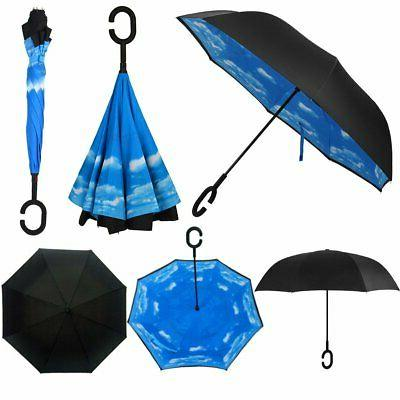 Owen Windproof Layer Inverted Umbrella Protection
