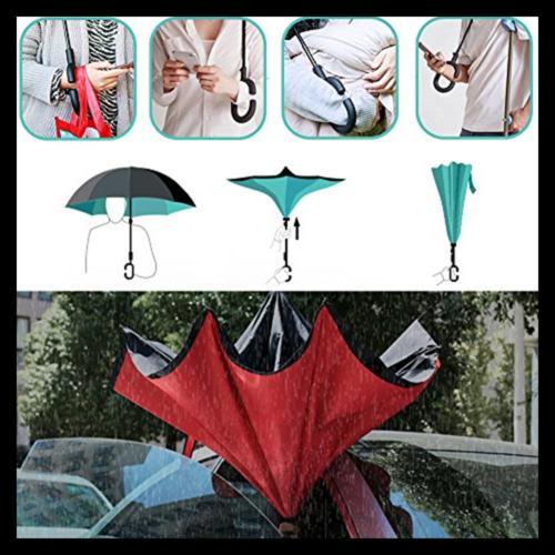 Owen Kyne Layer Inverted Umbrella Self S BLUE