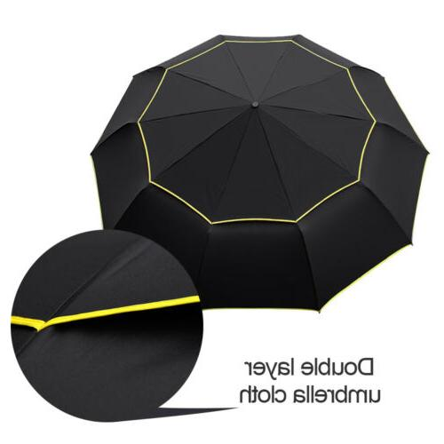 Windproof Oversize Rain Umbrella Men Women Double