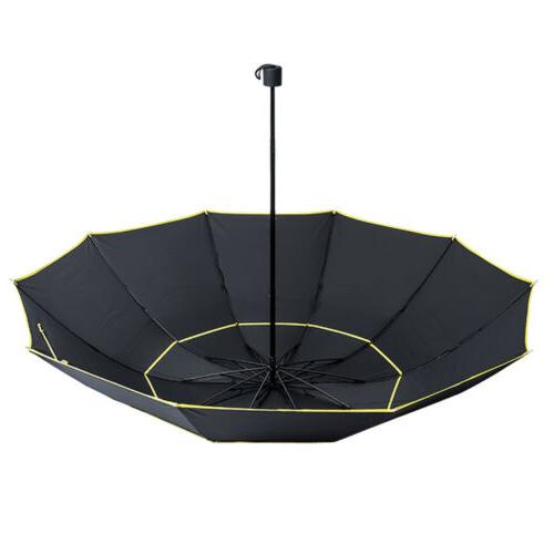 Windproof Folding Large Rain Golf Umbrella Women Double