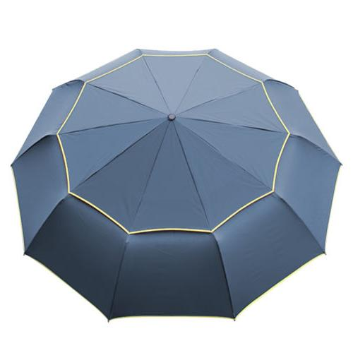 Windproof Oversize Rain Golf Umbrella Men Women Double Canopy