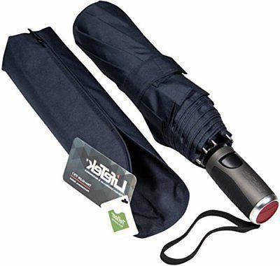 windproof travel umbrella compact automatic open close