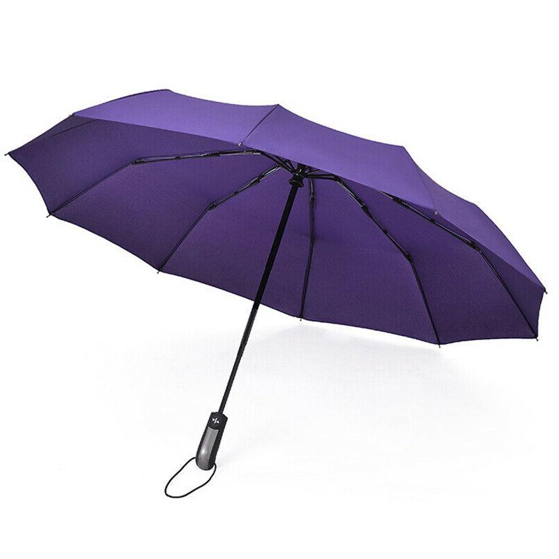 Automatic Umbrella Compact Folding Travel Sun