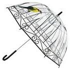 New Transparent Umbrella Bird Cage Women Classic Style Long