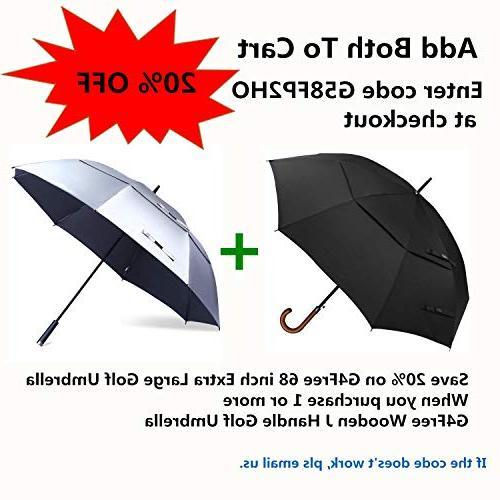 G4Free Classic Umbrella Auto 52 Large Vented Umbrellas