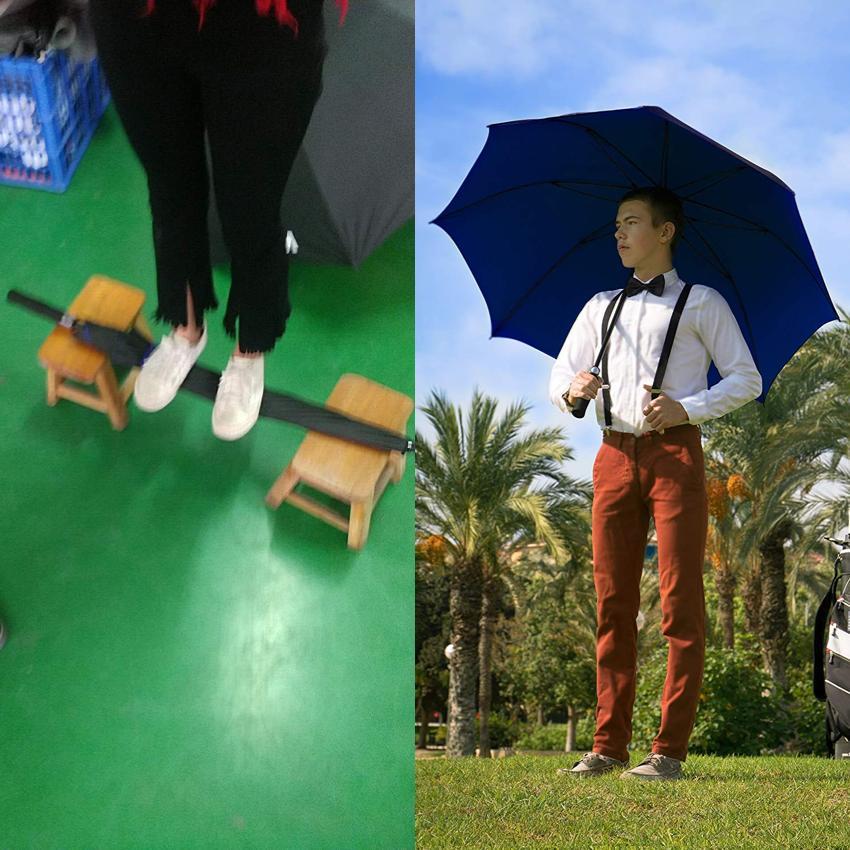 """Rain XL Automatic Stick Umbrella Fiberglass"