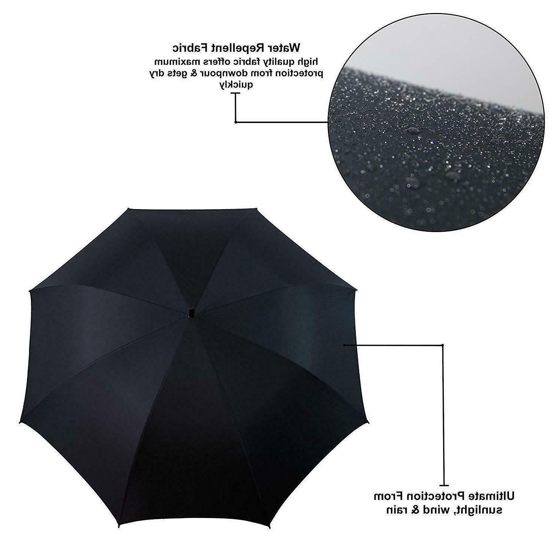 """Rain 60"" Automatic Open Umbrella Fiberglass"