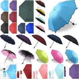 Ladies Automatic Rain Anti-UV Sun Portable Umbrella Windproo