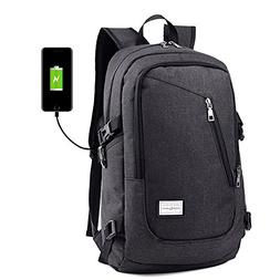 Laptop Backpack with USB Charging Port Fits 12-15.6 Inch Lap