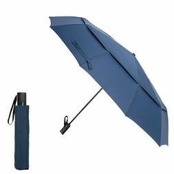 Golf Umbrellas Automatic Umbrella, Folding Travel Windproof
