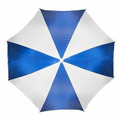 "Large 72"" BLUE Beach Umbrella Nylon Adjustable Patio Pool Um"