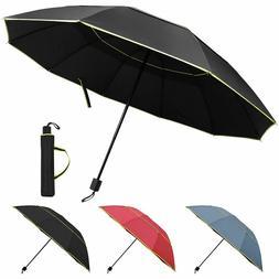 Large Oversize Golf Umbrella Men Women Windproof Rain Sun An