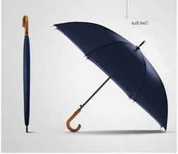 Large Umbrella Rain Windproof Long Japanese Style Thicken Me