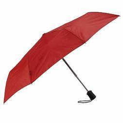 Lewis N. Clark Compact & Lightweight Travel Umbrella Opens &