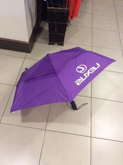 Lexus umbrella compact with Lexus logo multiple color option