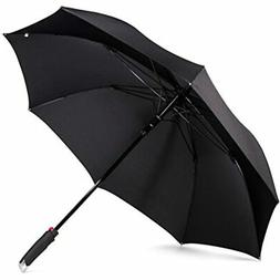 LifeTek New Yorker Large Golf Umbrella 54 Inch Automatic Ope