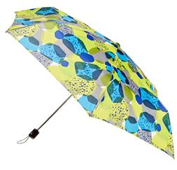 Totes Light N' Go Trekker Umbrella With Manual Open Blue/Yel