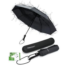 Lightweight Teflon Vented Double Canopy Compact Travel Autom