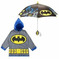 DC Comics Little Boys Batman or Superman Character Slicker a