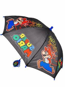 Little Boys Super Mario Luigi Toddler Kids Cute Rain Cartoon