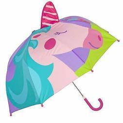 Stephen Joseph Little Girls' Pop up Umbrella Unicorn One Siz