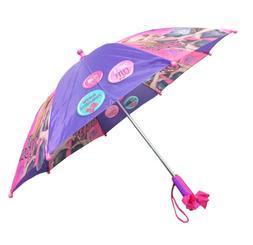 Little Girls' JoJo Siwa Rainwear Character Umbrella, Purple/