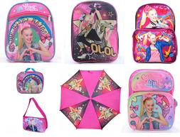 JoJo Siwa Little Girls School Backpack Book bag Lunch box Pi