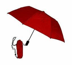 GustBuster Metro 43-Inch Automatic Umbrella Red