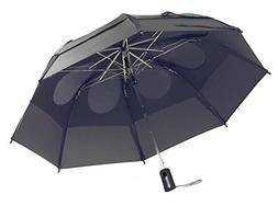 GustBuster Metro 43-Inch Automatic Umbrella, Suit Grey