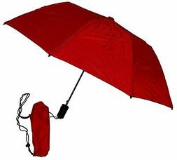"Gustbuster Metro Dual Canopy Collapsible Windproof 43"" Umbre"