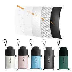 Mini 5 Folding Compact Super Windproof Anti-UV Rain Sun Trav
