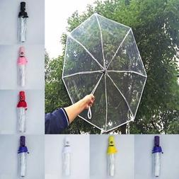 MINI Automatic Open Close Folding Umbrella Compact Windproof