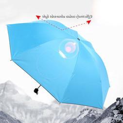 Mini Compact Folding Handbag Pack Anti UV Rain Umbrella Brol
