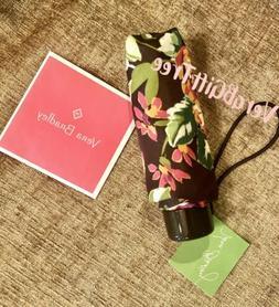 Vera Bradley Mini Purse Umbrella ENGLISH ROSE NWT RARE BROWN